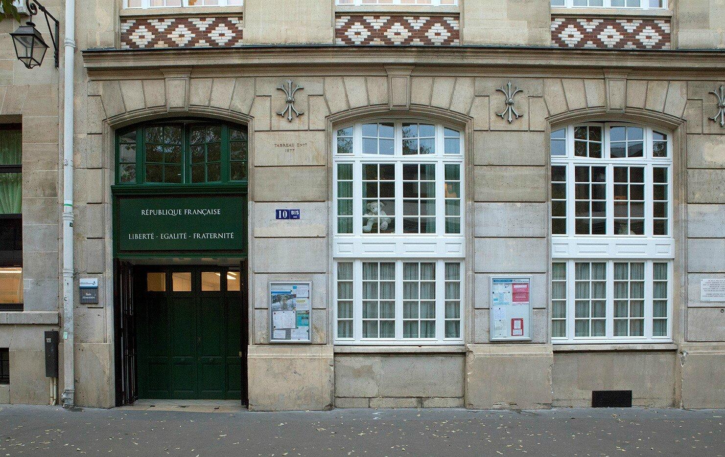 Cour Oasis FEDER Quatre Fils école élémentaire programme Paris enfants été rentrée Ligue de l'enseignement