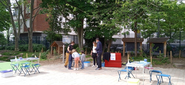 école cours Oasis Jean dolent Paris activités animations famille enfants gratuit