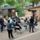 cour Oasis enfants école paris été activités animations FEDER projet ouverture daiclic