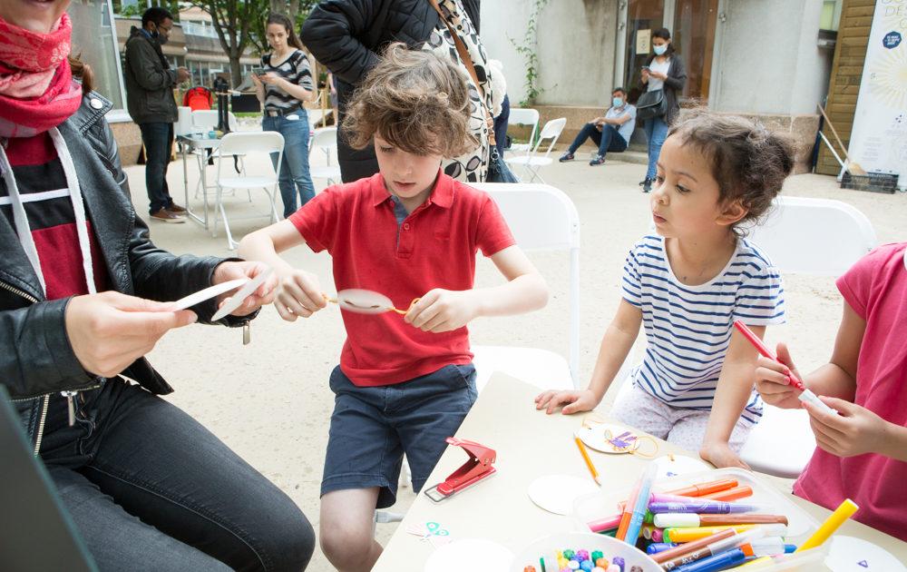 Cours Oasis ecole Emeriau paris été animations film acides animés associations famille paris gratuit projet FEDER européen nature parc activités